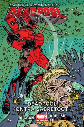 Deadpool. Deadpool kontra Sabretooth. Tom 3