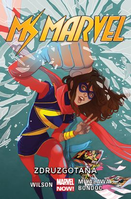 Ms Marvel. Zdruzgotana. Tom 3