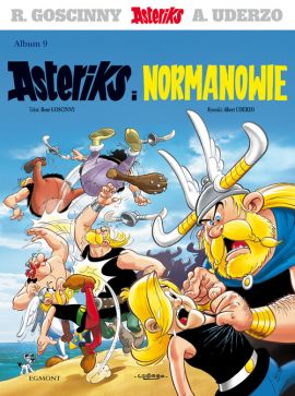Asteriks i Normanowie. Tom 9. - Rene Goscinny, Albert Uderzo
