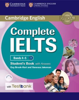 Complete IELTS Bands 4-5 Student's Book with Answers with CD-ROM with Testbank - Guy Brook-Hart, Vanessa Jakeman