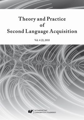 """""""Theory and Practice of Second Language Acquisition"""" 2018. Vol. 4 (2)"""