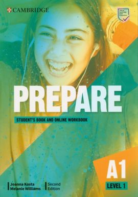 Prepare 1 Student's Book with Online Workbook - Joanna Kosta, Melanie Williams