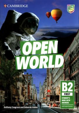 Open World First Student's Book with Answers with Online Practice - Anthony Cosgrove, Deborah Hobbs