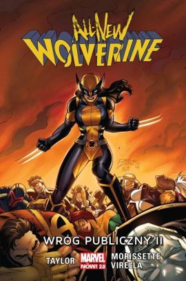 All-New Wolverine Wróg publiczny - Tom Taylor