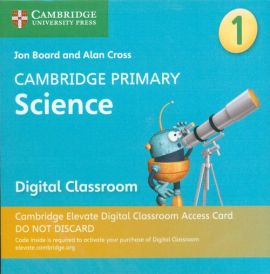 Cambridge Primary Science Stage 1 Cambridge Elevate Digital Classroom Access Card (1 Year)