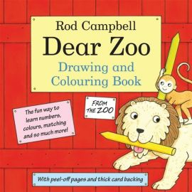 The Dear Zoo Drawing and Colouring Book - Rod Campbell