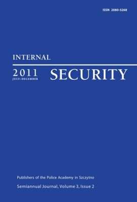 Internal Security, July-December 2011 - Praca zbiorowa