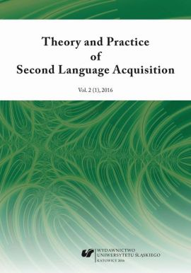 """""""Theory and Practice of Second Language Acquisition"""" 2016. Vol. 2 (1) - 04 Multilingual Processing Phenomena in Learners of Portuguese as a Third or Additional Language"""