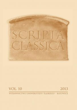 "Scripta Classica. Vol. 10 - 01 A Controversial Interpretation of the didu Form. The Opinions of Contemporary Linguists and the Forms of the Second Person Singular of ""imperativi praesentis..."""