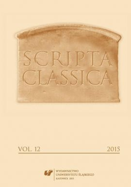Scripta Classica. Vol. 12 - 02 Theos egenou ex antropou. Dionysian and Aphrodisian Aspects of the Underworld