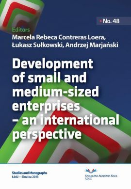 Development of small and medium-sized enterprises – an international perspective