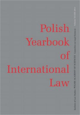 2013 Polish Yearbook of International Law vol. XXXIII - Answers to the Questions for the Grand Chamber hearing in the case of Janowiec and Others v. Russia