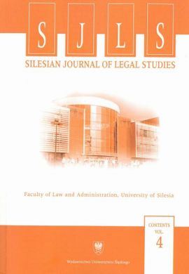"""Silesian Journal of Legal Studies"". Contents Vol. 4 - 02 ""Significant Disadvantage"" Suffered by the Applicant as a New Admissibility Criterion before the ECtHR – Necessary Development or Too Far-Reaching Restriction...?"
