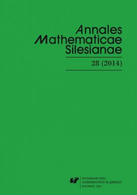 """Annales Mathematicae Silesianae"". T. 28 (2014) - 02 Strong maximum principles for infinite implicit parabolic systems"