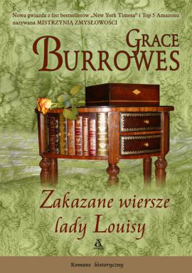 Zakazane wiersze lady Louisy - Outlet - Grace Burrowes