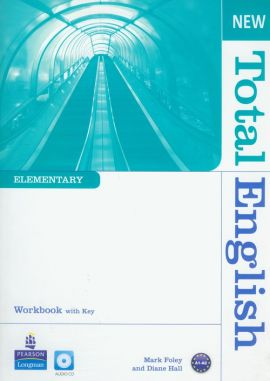 New Total English Elementary Workbook with CD - Outlet - Mark Foley, Diane Hall