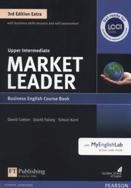 Market Leader Extra Upper Intermediate Course Book +DVD + MyEnglishLab - David Cotton, David Falvey, Simon Kent