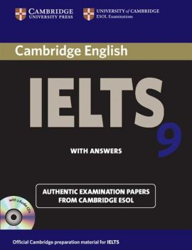 Cambridge IELTS 9 Authentic Examinatin Papers with answers + 2CD