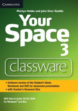 Your Space Level 3 Classware DVD-ROM with Teacher's Resource Disc - Martyn Hobbs, Keddle Julia Starr