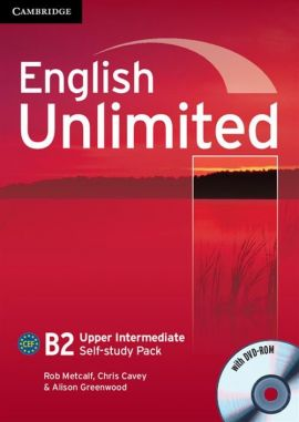 English Unlimited Upper Intermediate Self-study pack Workbook + DVD - Chris Cavey, Alison Greenwood, Rob Metcalf