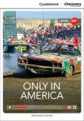Only in America Low Intermediate Book with Online Access - Genevieve Kocienda
