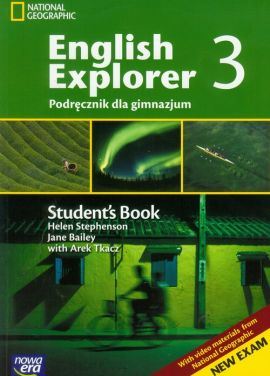 English Explorer 3 Podręcznik z płytą CD - Outlet - Jane Bailey, Helen Stephenson, Arek Tkacz