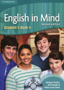 English in Mind 4 Student's Book + DVD - Herbert Puchta, Jeff Stranks