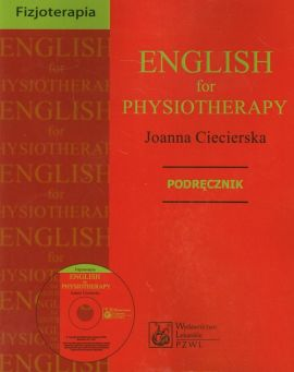 English for physiotherapy Podręcznik z płytą CD - Outlet - Joanna Ciecierska