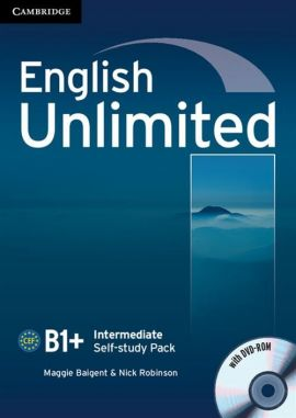 English Unlimited Intermediate Self-study Pack with DVD-ROM - Maggie Baigent, Nick Robinson
