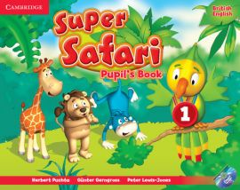 Super Safari 1 Pupil's Book + DVD - Günter Gerngross, Peter Lewis-Jones, Herbert Puchta