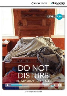 Do Not Disturb: The Importance of Sleep High Beginning Book with Online Access - Genevieve Kocienda