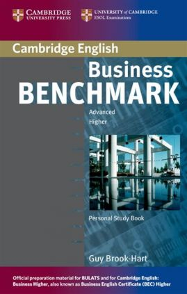 Business Benchmark Advanced Personal Study Book - Brook-Hart Guy