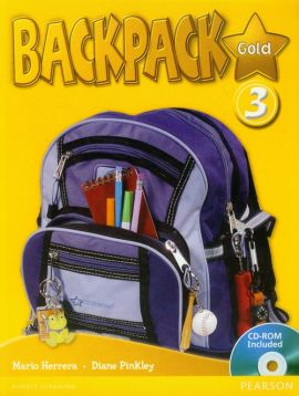 Backpack Gold 3 Student's Book + CD - Mario Herrera, Diane Pinkey