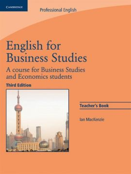 English for Business Studies Teacher's Book - Ian MacKenzie
