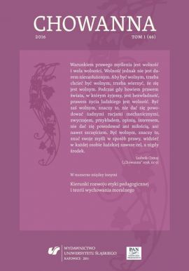 """""""Chowanna"""" 2016. T. 1 (46): Kierunki rozwoju etyki pedagogicznej i teorii wychowania moralnego - 16 Sources of Knowledge about Parenting and Causes of Lack Thereof at the Birth of a First Child from Parents' Perspective"""