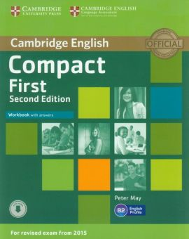Compact First Workbook with answers CD