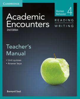 Academic Encounters 4 Teacher's Manual Reading Writing - Seal Bernard