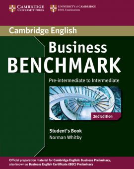 Business Benchmark Pre-intermediate to Intermediate Student's Book - Norman Whitby