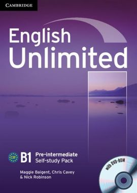 English Unlimited Pre-intermediate Self-study Pack Workbook + DVD - Maggie Baigent, Chris Cavey, Nick Robinson