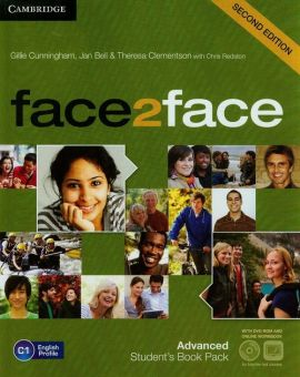Face2face 2ed Advanced Student's Book z DVD - Jan Bell, Theresa Clementson, Gillie Cunningham