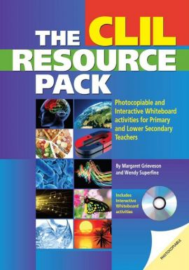 The Clil Resource Pack + CD - Margaret Grieveson, Wendy Superfine