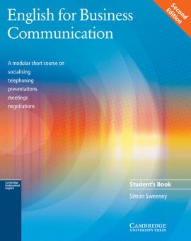 English for Business Communication Student's book - Simon Sweeney