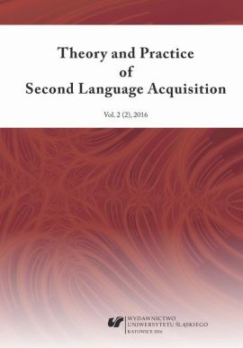 """Theory and Practice of Second Language Acquisition"" 2016. Vol. 2 (2)"