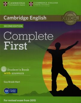 Complete First Student's Book with answers + CD-ROM - Guy Brook-Hart