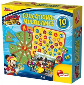 Gry edukacyjne Mickey and roadster racers