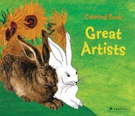 Coloring Book: Great Artists - Annette Roeder