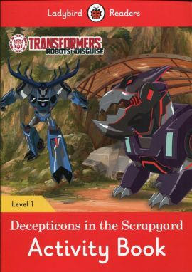 Transformers: Decepticons in the Scrapyard Activity Book