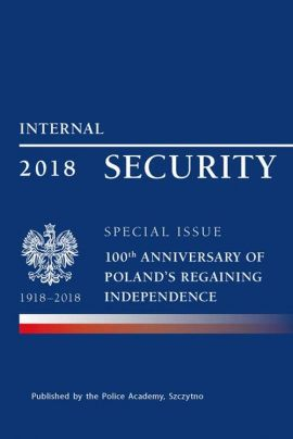 Internal security special issue 100 anniversary of Poland's regaining independence - Praca zbiorowa