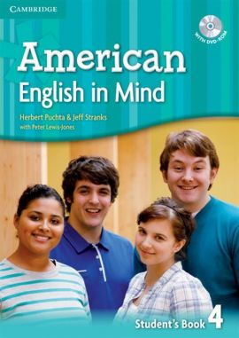 American English in Mind 4 Student's Book with DVD-ROM - Peter Lewis-Jones, Herbert Puchta, Jeff Stranks