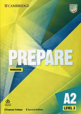 Prepare 3 A2 Workbook with Audio Download - Frances Treloar
